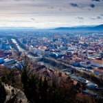 Blick vom Schlossberg in Graz Bandit Art Foto - Video, Film, Mutlimedia, Videomarketing